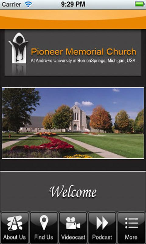Pioneer Memorial Church- screenshot