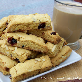 Cranberry and Almond Biscotti Recipe