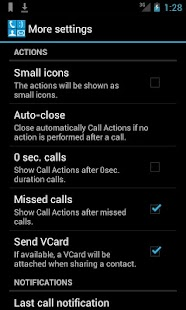 Call Actions - screenshot thumbnail