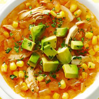 Tex-Mex Chicken Soup.