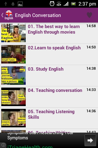 English Conversation Courses - Android Apps on Google Play