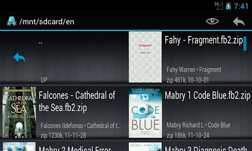 AlReader -any text book reader - screenshot thumbnail