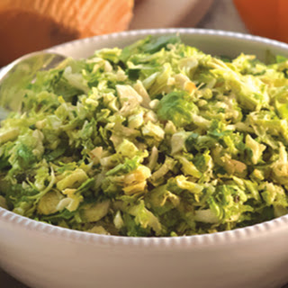 Simple Shaved Brussels Sprouts