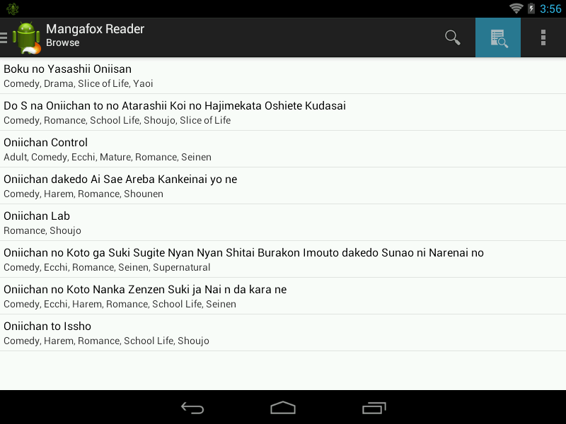 Mangafox Reader - Manga reader - screenshot