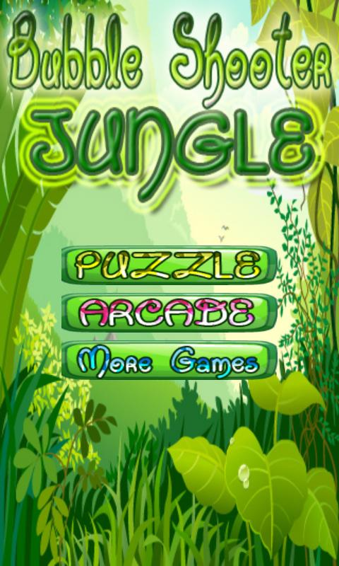 bubble shooter jungle