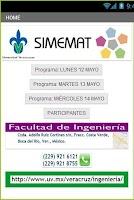 Screenshot of SIMEMapp