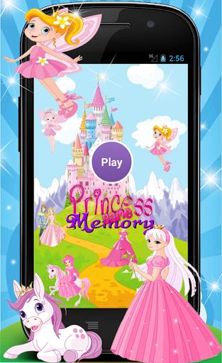 Princess Memory Game for Girls