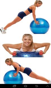 Exercise ball Swiss Ball app