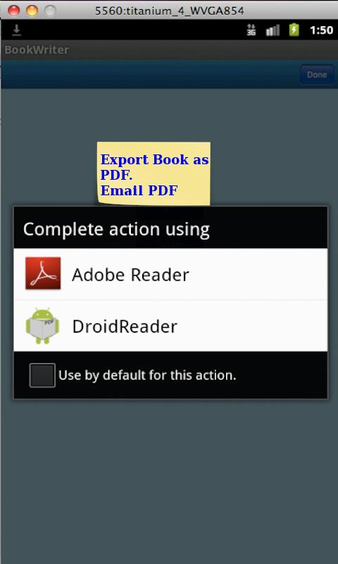BookWriter (Notes/Book/Diary)- screenshot