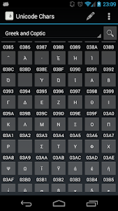 Unicode Chars screenshot 5