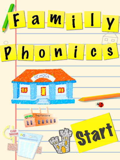 UK Family Phonics App