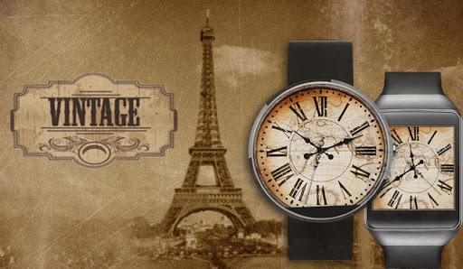Vintage 360 Premium Watch Face