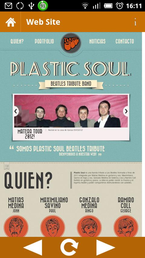 Plastic Soul Beatles Tribute - screenshot