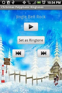 CHRISTMAS POLYPHONIC Ringtones - screenshot thumbnail