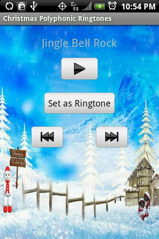 CHRISTMAS POLYPHONIC Ringtones - screenshot