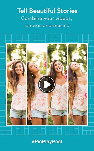 PicPlayPost - Photo & Video Collage, Gif Maker Screenshot