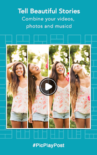 Photo & Video Collage, Gif Maker - PicPlayPost- screenshot thumbnail