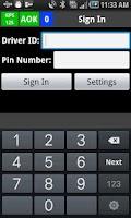 Screenshot of Taxi Dispatch