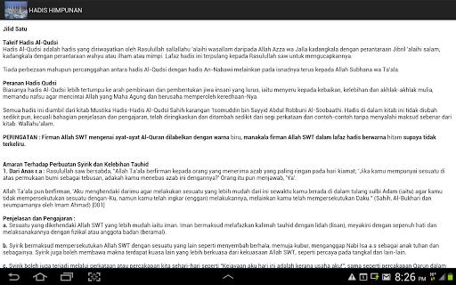 Hadis Himpunan bahasa Malaysia