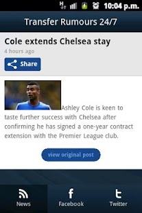 Transfer Rumours 24/7 - screenshot thumbnail