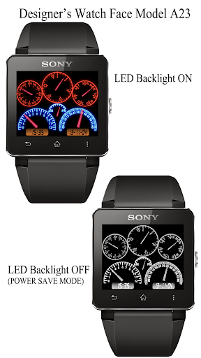A23 WatchFace for SmartWatch2
