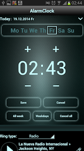 radio alarm clock android apps on google play. Black Bedroom Furniture Sets. Home Design Ideas