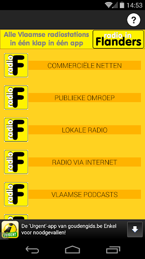 Radio in Flanders