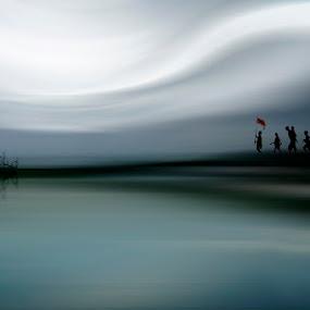 simplicity by Ayah Dang - Digital Art Places