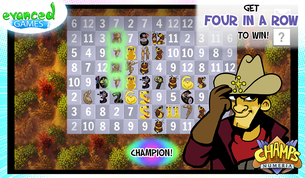 Champs of Numeria- screenshot