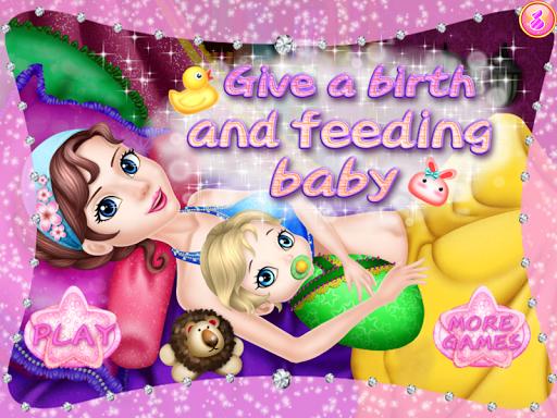 餵養女嬰遊戲