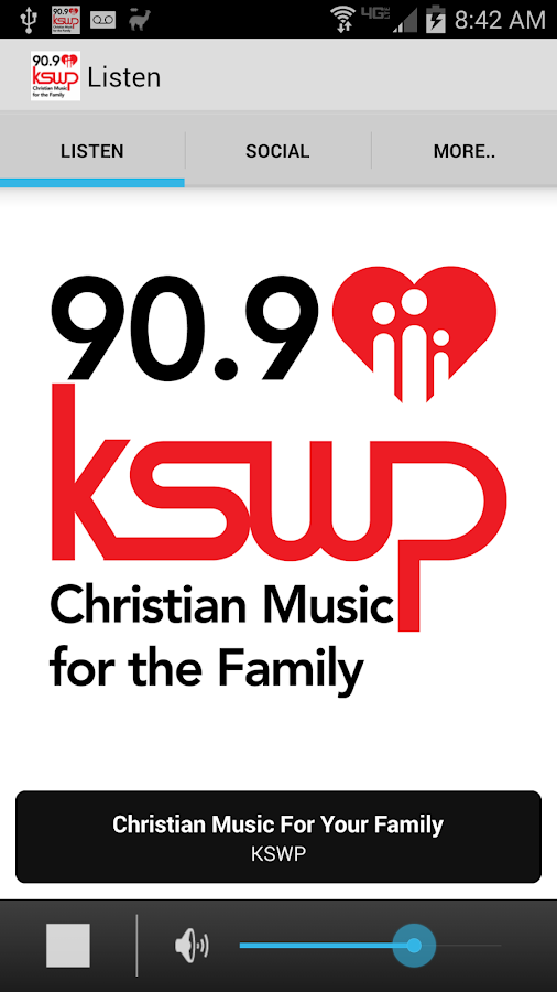 KSWP 90.9- screenshot