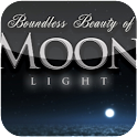 HD moonlight sky flight live icon