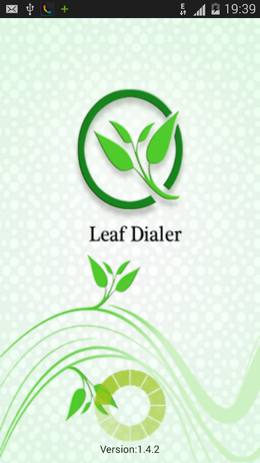 Leaf  Dialer- screenshot