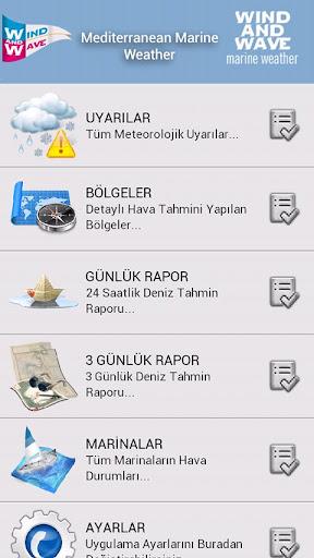 WaW Index Dalga Deniz Tahmini