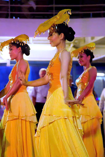 Azamara-Ho-Chi-Minh-Vietnamese-Show-2 - Get immersed in the music and dances of Vietnam with the Ho Chi Mihn Vietnamese Show aboard an Azamara cruise.