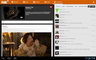 Screenshot of FOX Fan