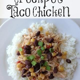 Crockpot Taco Chicken
