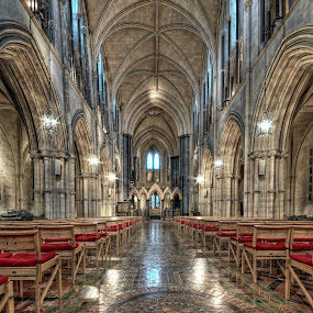 Christ church cathedral by Paul Holmes - Buildings & Architecture Public & Historical ( dublin buildings )