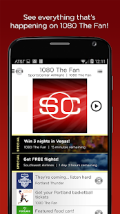 ESPN Sports Radio 1080 The FAN- screenshot thumbnail