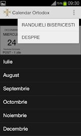 Calendar Crestin Ortodox 2016 Screenshot 5