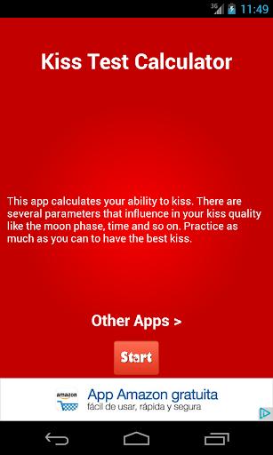 Kiss Test Calculator