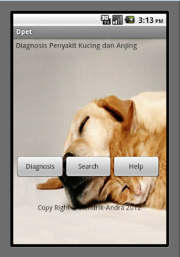 Pets Diagnosis