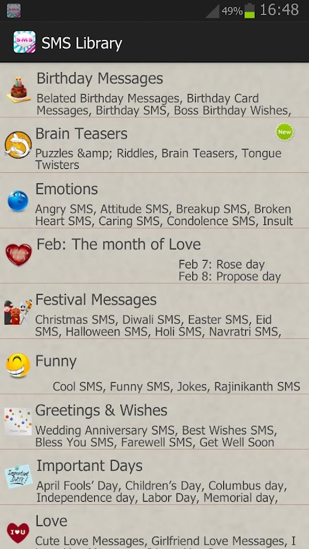 All In One SMS Library APK 2 32 Download - Free Social APK Download