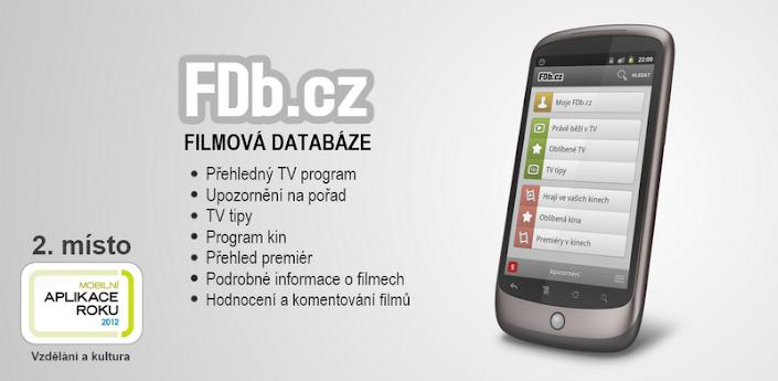 Aplikace pro filmy   Fdb.cz   androidaplikace