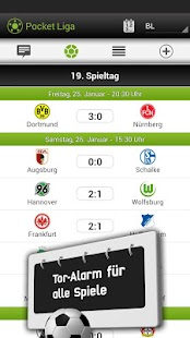 Pocket Liga - Live Ticker - screenshot thumbnail