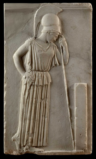 Relief of the Pensive Athena.