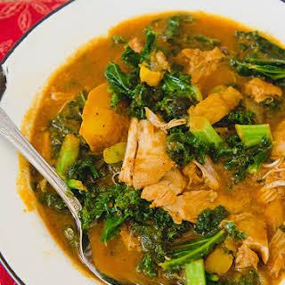 Crock-Pot Tomato & Coconut Chicken Curry.
