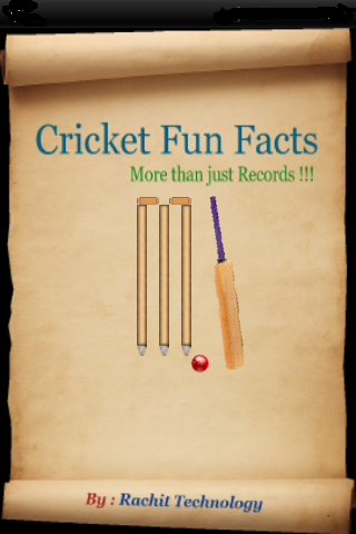 Cricket Fun Facts PRO