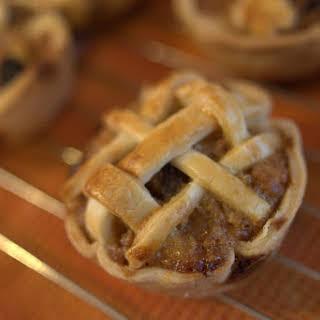 Rum Raisin Mini Apple Pie Bites.