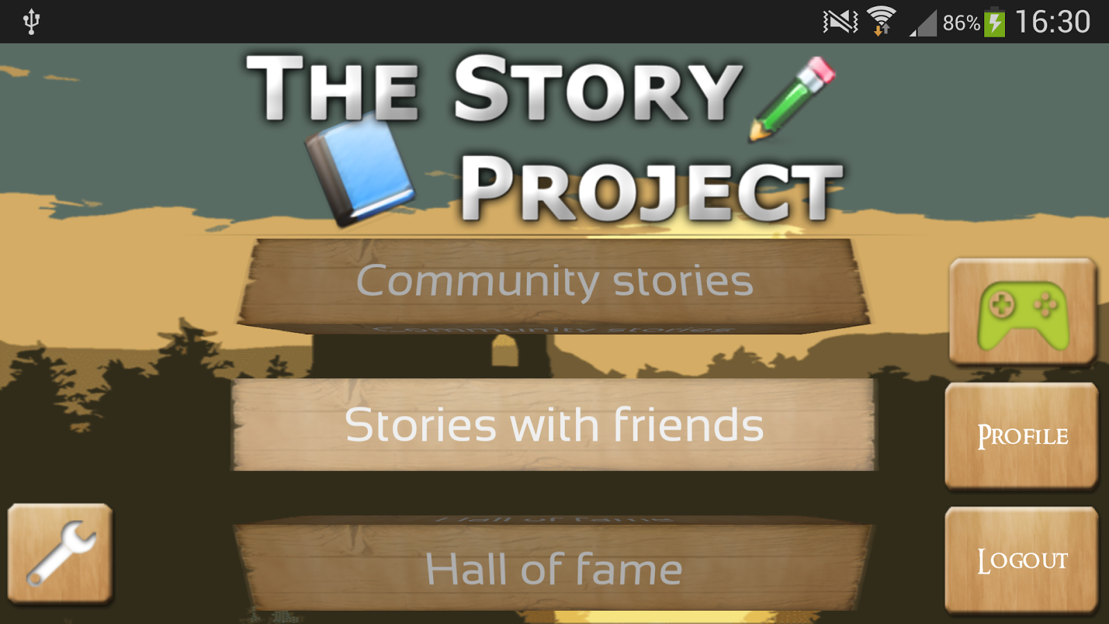 The Story Project- screenshot